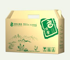 百姓云山鸡蛋礼盒